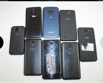 $ CDN48.53 • Buy Cell Phone Lot (8) With 4 Fully Functional Units!