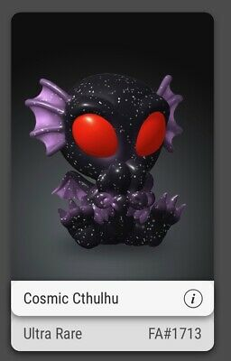 $215 • Buy VEVE Collectible NFT Cryptkins Cosmic Cthulhu Ultra Rare 3D SOLD OUT FA #1713