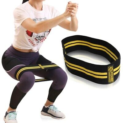 $ CDN18.98 • Buy Hip Resistance Bands Fitness Equipment Squats Legs Training Workout Warmup Bands