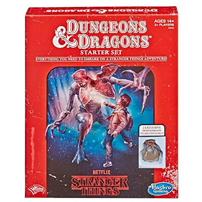 AU44.95 • Buy D&D Stranger Things Starter Set - Dungeons And Dragons