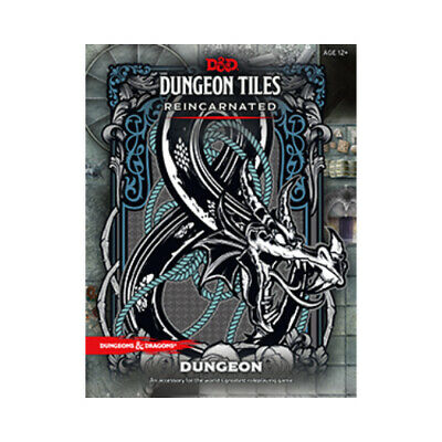 AU40.50 • Buy D&D Dungeon Tiles Reincarnated - Dungeon - Dungeons And Dragons