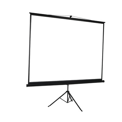 AU134 • Buy 100 Inch Projector Screen Tripod Stand Home Pull Down Outdoor Screens Cinema 3D
