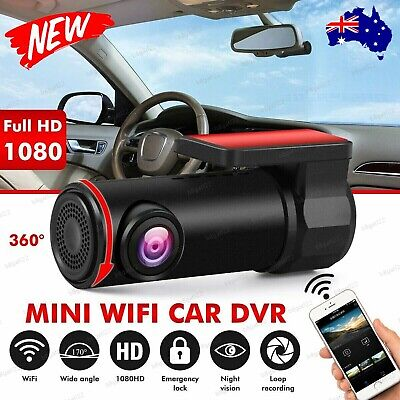 AU36.90 • Buy Mini Car Dash Camera 1080P WiFi Video DVR Cam Recorder FHD Lens Night Vision NEW