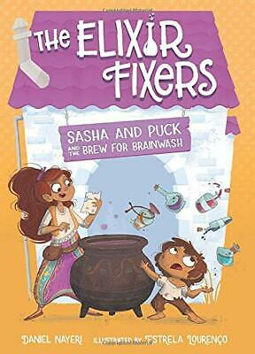 £14.62 • Buy Sasha And Puck And The Brew For Brain By Daniel Nayeri Estrela Lourenco New Book