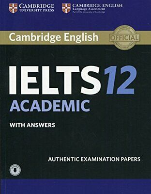 £34.66 • Buy Cambridge IELTS 12 Academic Student's By Cambridge University Press New Book