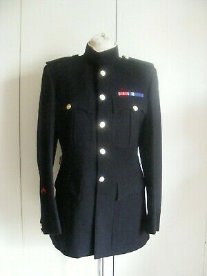 £38 • Buy Vintage 1940s-1950s Military Uniform Tunic Jacket Royal Army By Moss Bros 38
