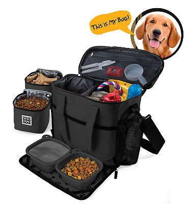 $ CDN84.51 • Buy Mobile Dog Gear Week Away Tote Dog Travel Bag For Med And Large Dogs Black