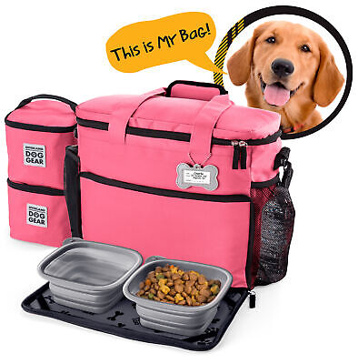 $ CDN84.51 • Buy Mobile Dog Gear Week Away Dog Travel Bag For Medium And Large Dogs Pink