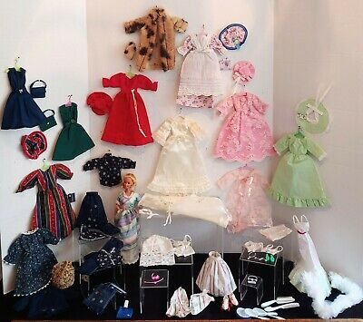 $ CDN48.37 • Buy Vintage 80's Barbie Doll, Clothes & Accessory Lot