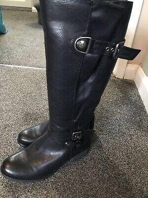 Size 5 Pavers Black Womens Boots • 29.99£