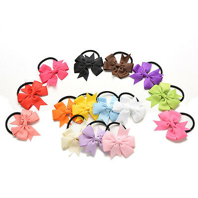$ CDN7.12 • Buy 15 Pcs Baby Girl Hair Tie Ponytail Holder Hair Accessories Kids WholesalZCSG
