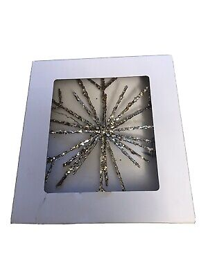 NEW The White Company Christmas Tree Star Topper • 15£