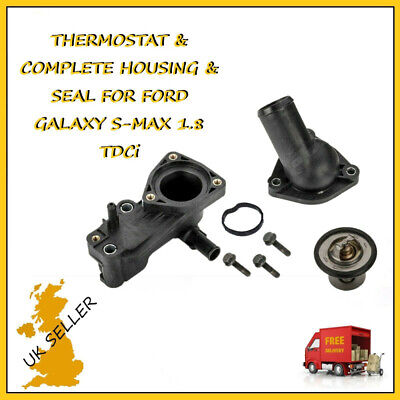 £15.59 • Buy 1.8 TDCi THERMOSTAT HOUSING For FORD FOCUS TRANSIT CONNECT GALAXY MONDEO