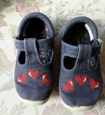 £2.50 • Buy Start Rite Infant Girls Blue Canvas Summer Shoes. Size 5f