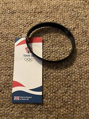 £0.01 • Buy Official Product Of Team GB London 2012 Black Wristband