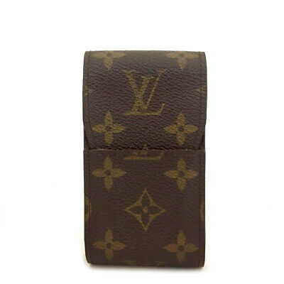 Louis Vuitton Monogram Cigarette Tobacco Case /A0431 • 0.70£