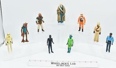 $ CDN54.59 • Buy Lot Star Wars Figures X9 Star Wars Vintage Kenner Action Figure No Repro