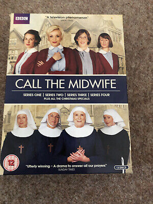£4 • Buy Call The Midwife Series 1 - 4 & Christmas Specials DVD Boxset (2013)