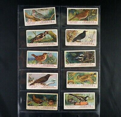 £2 • Buy British Birds Cigarette Cards By Ogdens Issued 1905 Pick Your Card