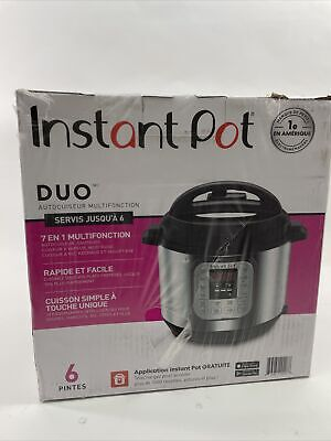 $ CDN48.39 • Buy SEALED Instant Pot DUO60 V3 6Qt 7-in-1 Multi-Use Programmable Pressure Cooker