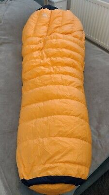£165 • Buy Mountain Equipment Snowline 750 Down Sleeping Bag-20 Good Condition Hardly Used