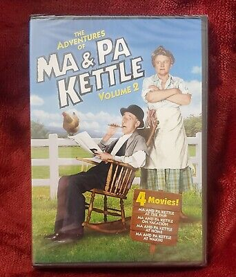 $5.59 • Buy The Adventures Of Ma And Pa Kettle - Volume 2 (DVD, 2011, 2-Disc Set)