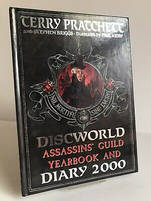 £22.99 • Buy Terry Pratchett  Discworld Assassins' Guild Yearbook And Diary 2000  1ST ED HB