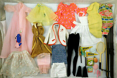 $ CDN68.37 • Buy LOT OF VINTAGE 1960's MATTEL BARBIE CLOTHES AND ACCESSORIES