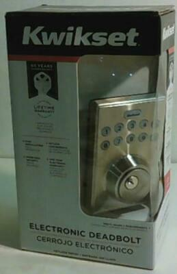 $ CDN1.88 • Buy Kwikset 92640-001 Electronic Keypad Deadbolt $83 - READ