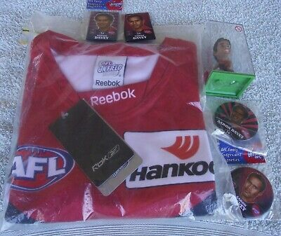AU249.99 • Buy Afl Melbourne Demons Aaron Davey Package9signed Jumpercoa)7 Photos
