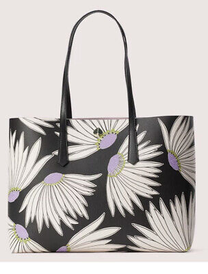 $ CDN123.59 • Buy Kate Spade Molly Small Tote New With Tags 🌺 Floral Black Multi