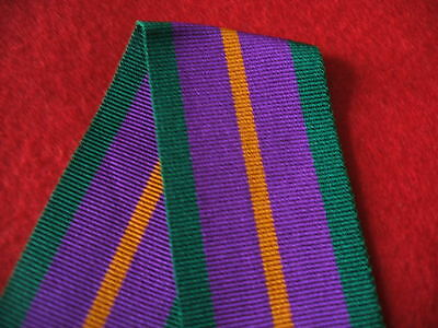 £0.99 • Buy  MYB198B Accumulated Campaign Service Medal 1994 Ribbon F/S 30cm (12 ) Long.