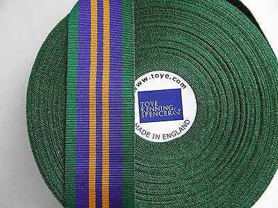 £1.50 • Buy  MYB198C Accumulated Campaign Service Medal ACSM 2011 Ribbon Full Size 32cm 12