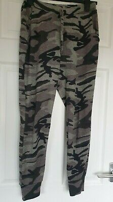 £3.95 • Buy Great Condition Cameo Rose Camouflage Jersey Joggers Size 10