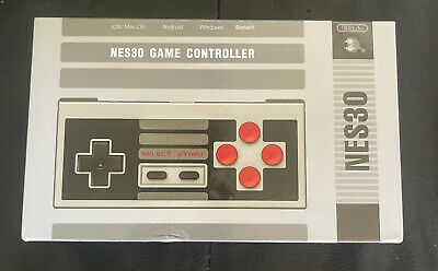 AU38.60 • Buy 8Bitdo NES30 Mobile Wireless Controller Bluetooth (iOS Android & PC)