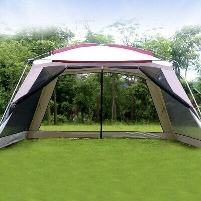£159.99 • Buy Pop Up Gazebo Tent With Sides Camping Shelter Garden Furniture Large Heavy Duty