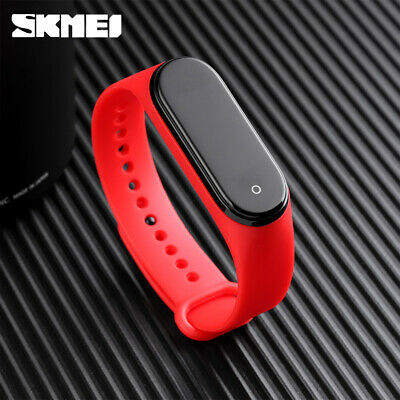 $ CDN14.51 • Buy Skmei Led Electronic Women Men Watch Digital Body Temperature Wristband 1672 3f