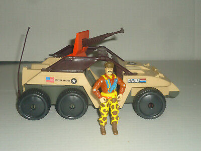 $ CDN31.46 • Buy Vintage 1988 GI Joe ARAH Desert Fox 6WD Jeep Vehicle Hasbro NEAR COMPLETE W/ FIG