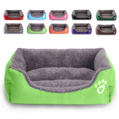 £17 • Buy Pet Dog Cat Bed Mattress Puppy Cushion Soft Warm Breathable Kennel Mat Washable