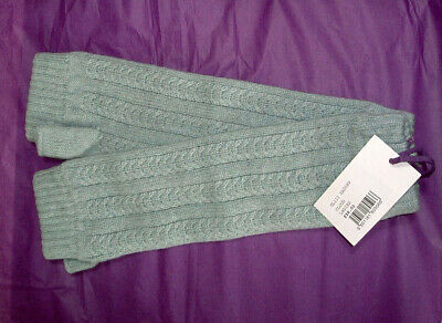 £45 • Buy BNWT *Brora* Kitten Soft 100% Cashmere Cable Knit Wrist Warmers