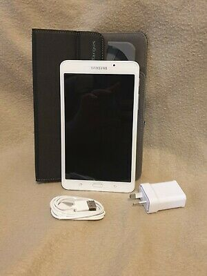 AU49.99 • Buy AS NEW - Samsung SM-T280 Galaxy Tab A, 7  (8GB) WiFi, With Cable, Charger & Case