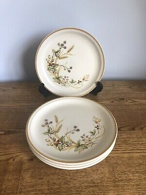 £14 • Buy Marks And Spencer Harvest Tea Plates X 4