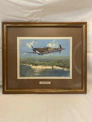 £14.99 • Buy One Of The Few,  Painting By Roffe Framed Aircraft Spitfire Wartime Print