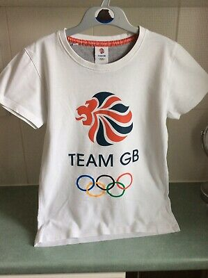 £7.50 • Buy London Team GB 2012 Olympics Childs T Shirt Age 9-10,134 -140cm Official Product