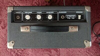 $ CDN137.24 • Buy Traynor Guitar Amplifier TS 10 Vintage Solid State Combo