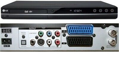 £55 • Buy LG DRT389H DVD Recorder With Built In Freeview/HDMI/USB *FREEVIEW FAULTY*