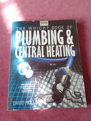 £1 • Buy The Which Book Of Plumbing And Heating