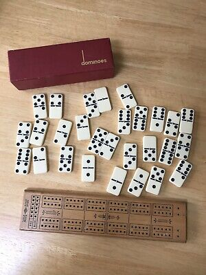 £4.99 • Buy Pub Dominoes And Cribbage Board - Old
