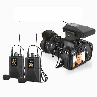 £34.79 • Buy Wireless Microphone With Range For DSLR Camera Interview Live Recording
