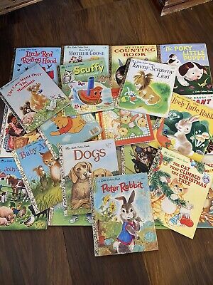 £40 • Buy 24 X A Little Golden Book Collection